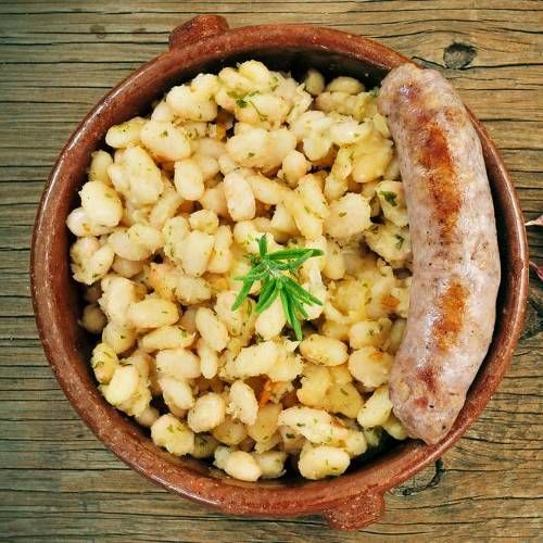 Catalan Sausage and Beans