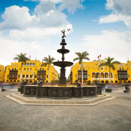 Main Square of Lima