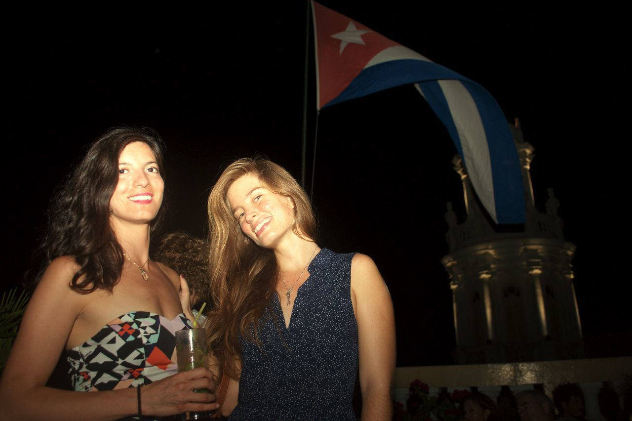 Girls in Havana Nightlife