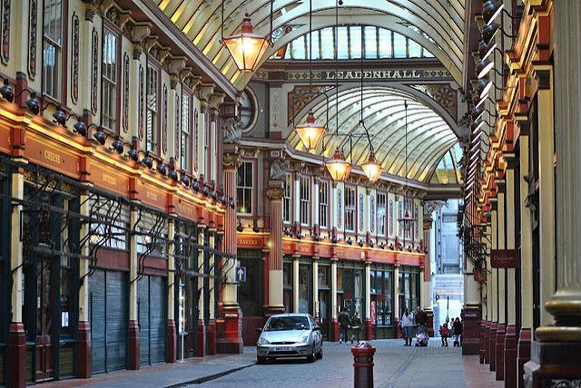 City Of london Leaderhall Market