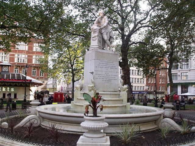 Leicester Square Shakespeare Statue