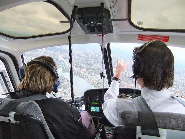 London Helicopter tour Pilot