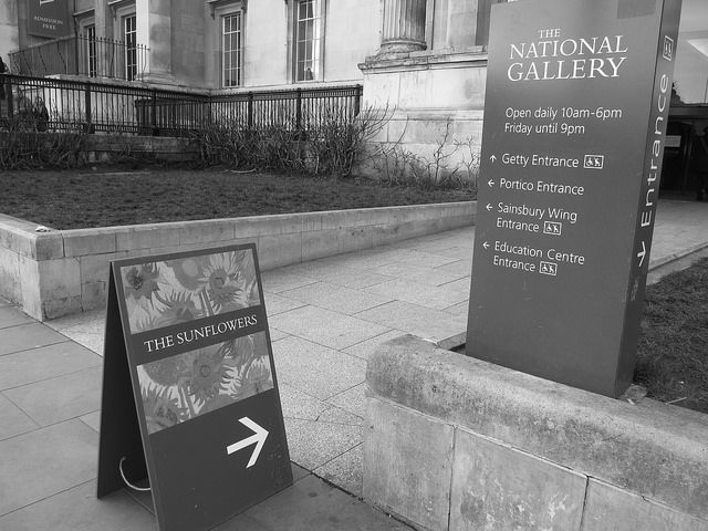 Entrance Nationa Gallery