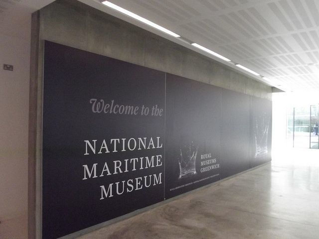 National Maritime Museum Entrance