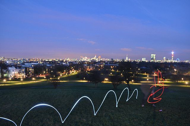 Primrose Hill  at Night