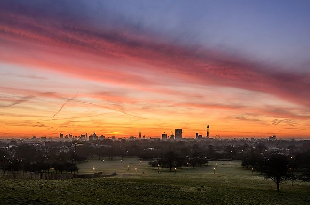 Primrose Hill Sunset