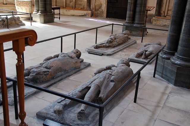 The Temple Church London Tombs