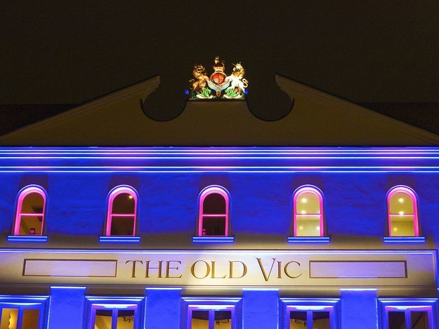 Old Vic Sign