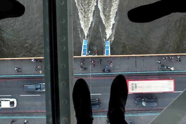Glass Walkway London Tower Bridge