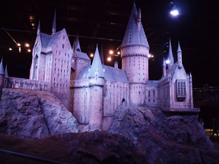 Warner Bros Studio Tour Hogwarts Model