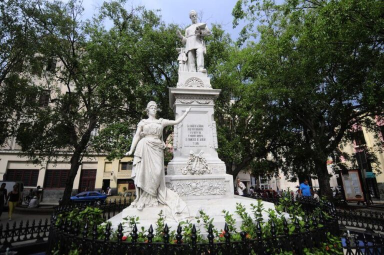 The Statue of Francisco Albear