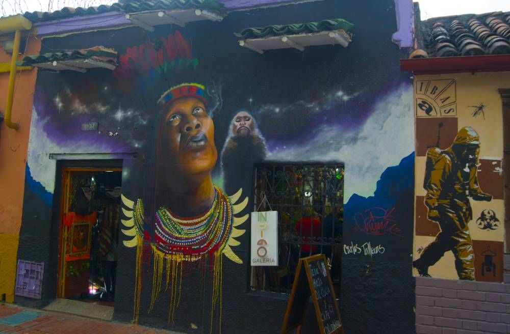 Graffiti Artist and Murals in Bogota